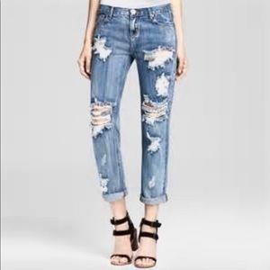One teaspoon ripped jeans size 27 J3